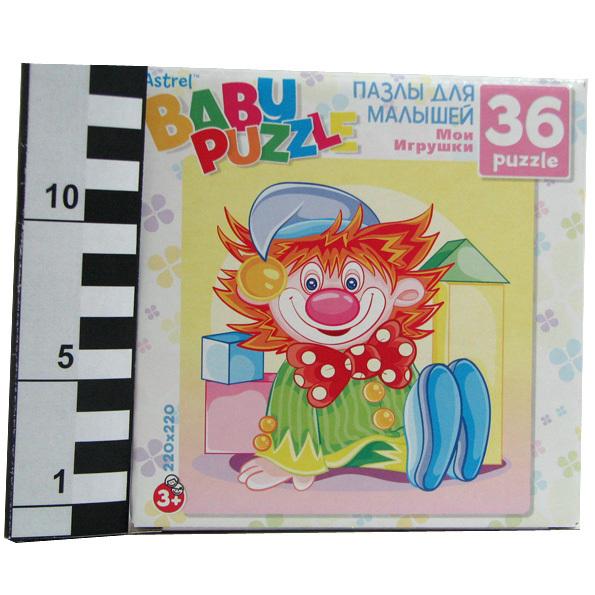 Пазл 36 Клоун 6265 Астрайт /10/ купить оптом и в розницу
