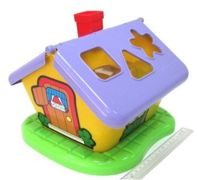 Логич.игрушка Домик садовый в сетке 3354 /П-Е/8/ купить оптом и в розницу