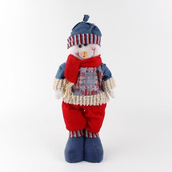 Мягкая игрушка ″Снеговик в одежде″ 40см купить оптом и в розницу