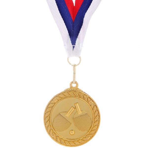 Медаль ″ Настольный теннис ″- 1 место (5см) купить оптом и в розницу