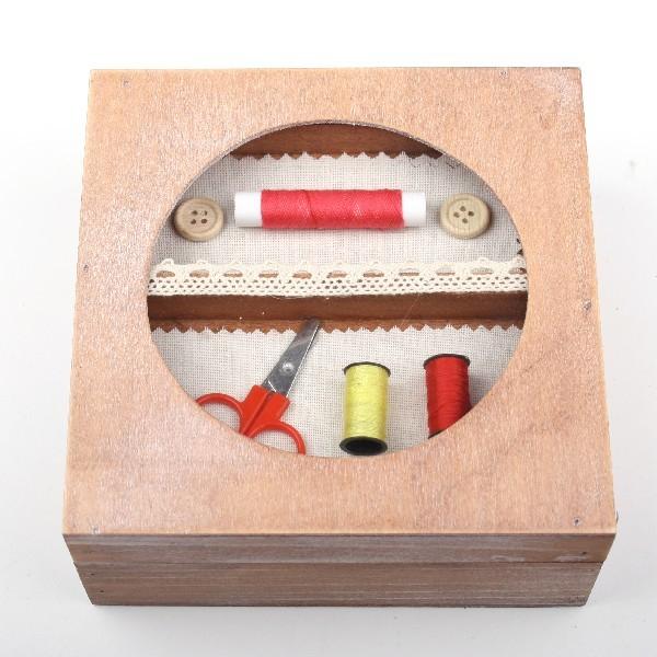 Шкатулка ″Для швейных принадлежностей″ 15*15*6,5 см С купить оптом и в розницу