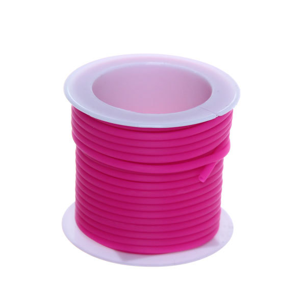 Шнур декоративный круглый 5м цветной 1шт X019 купить оптом и в розницу