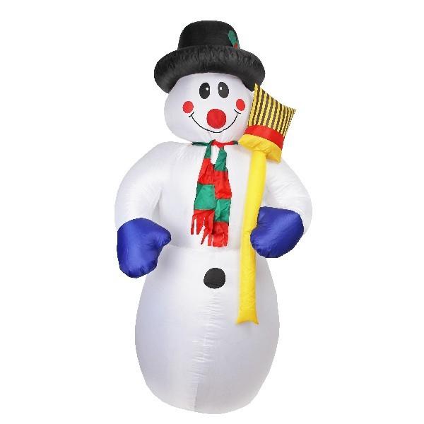 Фигура надувная ″Снеговик″ 2,4м купить оптом и в розницу