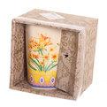 Кружка керамическая 280мл ″Бабочка″ в коробке M011 купить оптом и в розницу