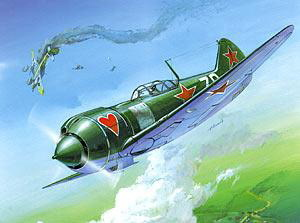 Сб.модель 7203 Самолет Ла-5ФН купить оптом и в розницу