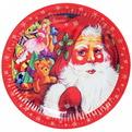 Тарелка бумажная 23 см в наборе 10 шт ″Новый год″ 3 купить оптом и в розницу