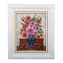 Картина объемная 59*70см ″Цветы″ H-3 купить оптом и в розницу