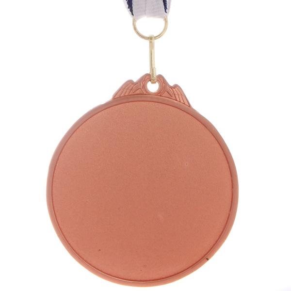 Медаль ″ Олимпийский огонь ″- 3 место (6,5см, два цвета) купить оптом и в розницу