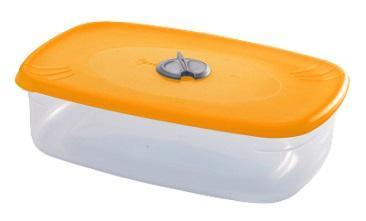 Емкость прямоугольная для СВЧ с паровыпускным клапаном 1,6 л*30 купить оптом и в розницу
