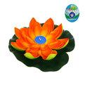 Растение водоплавающее ″Лотос″ d- 20см со свечой 0166А-7 купить оптом и в розницу