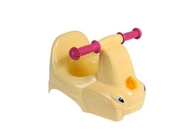 """Горшок-игрушка """"Грузовичок"""" желтый пастельный *5 купить оптом и в розницу"""