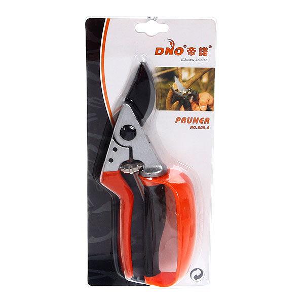 Секатор плоскостной 8,5″ с защитой пальцев DNO Р-802-2 купить оптом и в розницу