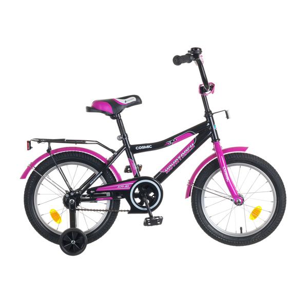 """Велосипед 2-х 16"""" COSMIC черн/фиолетовый 50277-КХ купить оптом и в розницу"""
