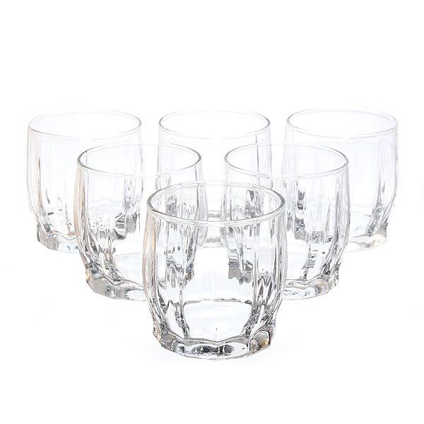 Набор стаканов для сока 6шт 220мл ″Данс″ низкие купить оптом и в розницу