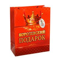 Пакет подарочный 26х21х10 см ″Королевский подарок″ купить оптом и в розницу