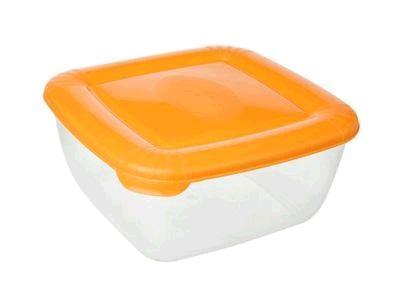 Емкость для хранения пищевых продуктов POLAR квадратная 0,46л*25 купить оптом и в розницу