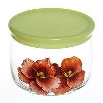 Банка для продуктов стеклянная 500мл ″Розовая орхидея″ D43002/01 купить оптом и в розницу