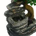 Фонтан из полистоуна ″Деревья на скалах″23*15*34см FA102 купить оптом и в розницу