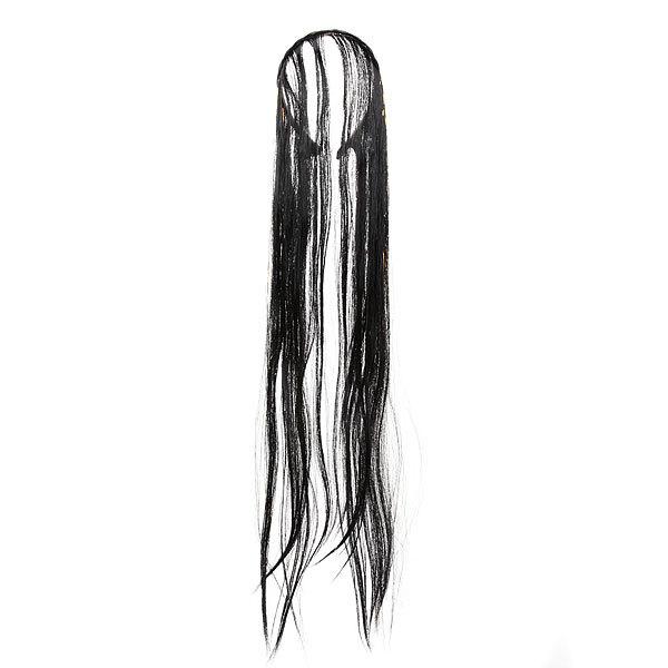Волосы накладные ″Ободок с волосами″ брюнетка 60см 517-2 купить оптом и в розницу