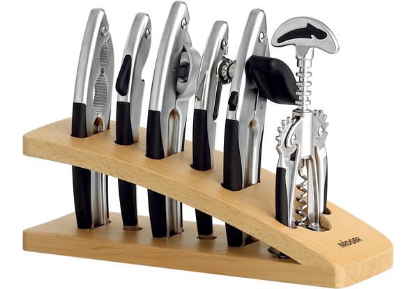 Набор инструментов, матовый хром, 7 пр., NADOBA, серия UNDINA *6 купить оптом и в розницу