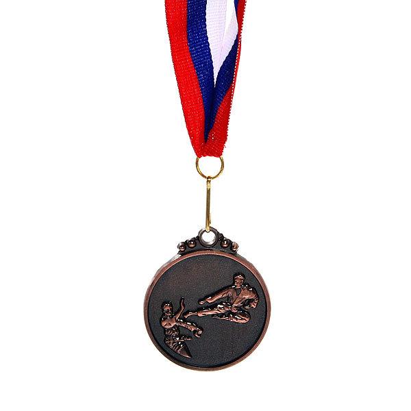 Медаль ″ Единоборства ″- 3 место (4,5см) купить оптом и в розницу