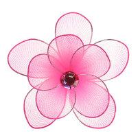 Магнит ″Розовая орхидея″, диам. 8 см купить оптом и в розницу