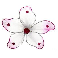 Магнит цветок со стразами, диам. 8 см купить оптом и в розницу