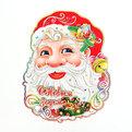 Плакат новогодний 54 см Дед Мороз С Новым Годом! купить оптом и в розницу