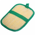 Мочалка для лица и тела комбинированная ″Vival″ с сизалем 21,5*14см купить оптом и в розницу