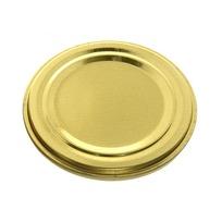 Крышка для консервирования d 82 СКО 1-82 ″УРОЖАЙ″ металлическая лакированная (цена за штуку, в уп. 50шт) купить оптом и в розницу