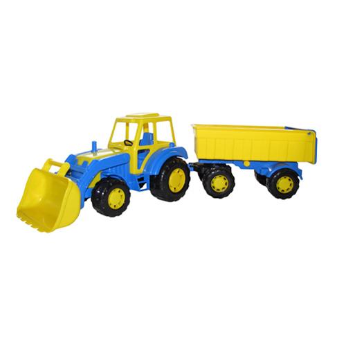 Трактор Мастер с прицепом и ковшом №1 35264 П-Е /6/ купить оптом и в розницу