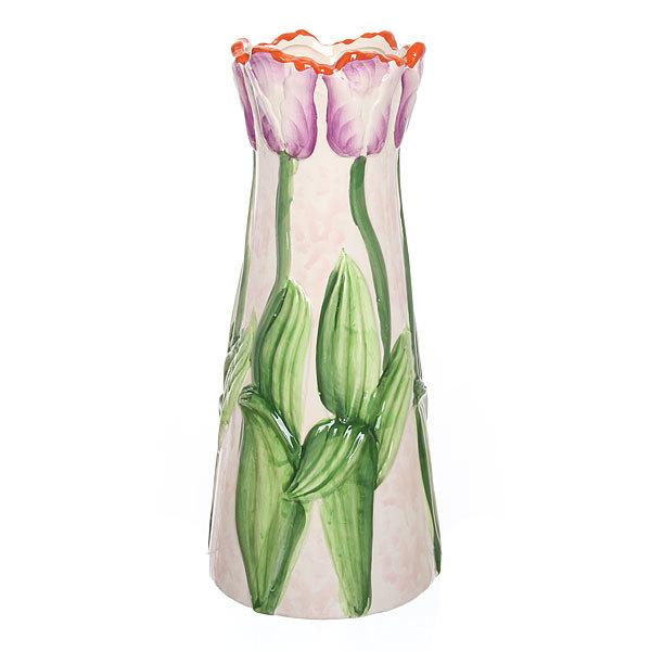 Ваза керамическая ″Тюльпаны″ 29,5см J56-QI73C купить оптом и в розницу