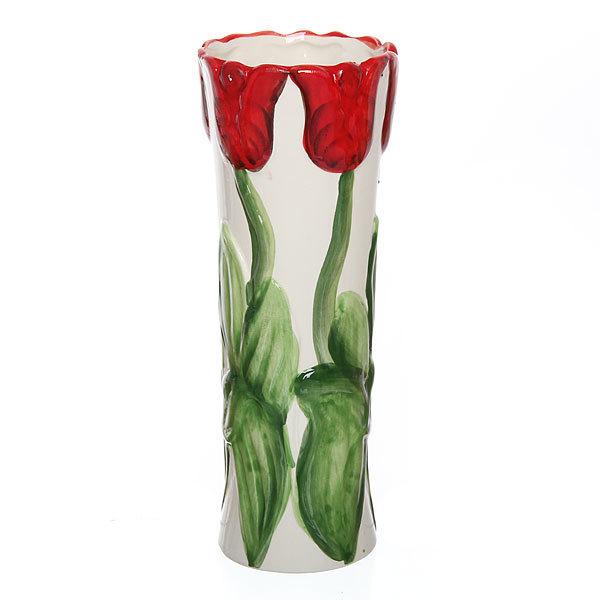 Ваза керамическая ″Тюльпаны″ 20см J54В-QI73А купить оптом и в розницу