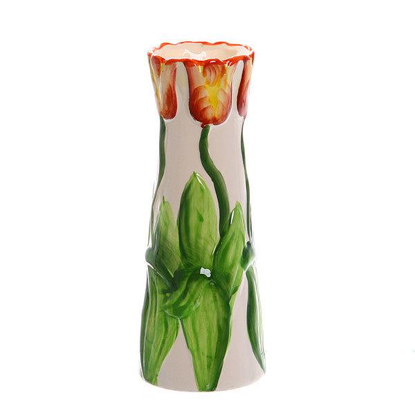 Ваза керамическая ″Тюльпаны″ 20 см купить оптом и в розницу