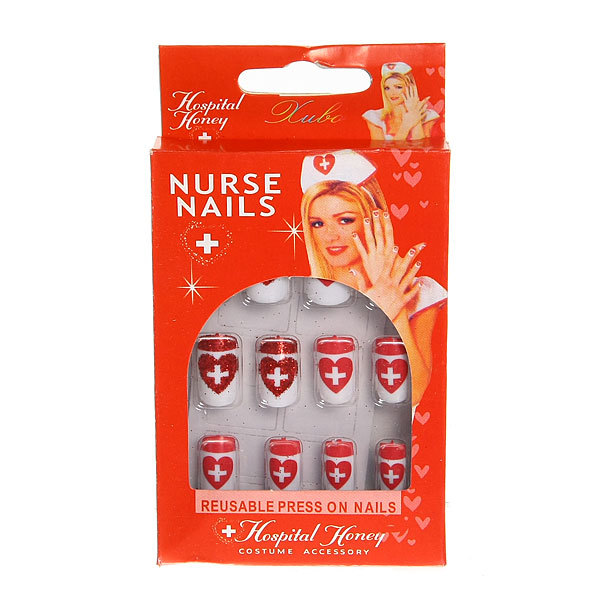 Набор карнавальный ногти накладные Ассорти купить оптом и в розницу
