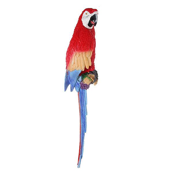 Садовая фигура, подвесная, на стену ″Попугай ара″, полистоун, 70 см купить оптом и в розницу