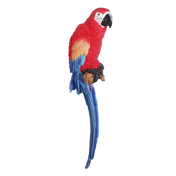 Садовая фигура ″Попугай ара″, полистоун, 47 см купить оптом и в розницу