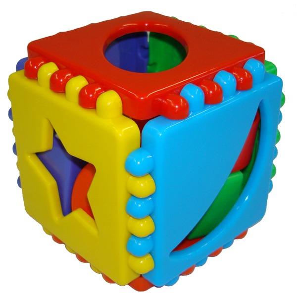 Логич.игрушка Куб малый 40-0011 /Терра Пласт/ купить оптом и в розницу