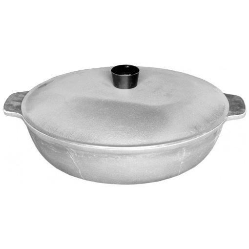Сковорода d 26 см литой алюминий с 2-мя ручкками 25-4М2к купить оптом и в розницу