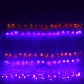 Сетка светодиодная 1,55 х 1,45 м, 192 ламп LED, Мультицвет, 8 режимов, прозр.пров. купить оптом и в розницу