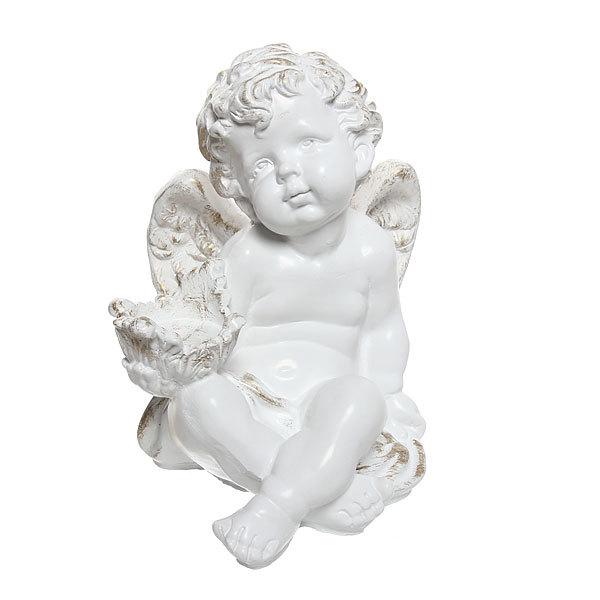 Статуэтка Ангел с чашей (позолота) 30см. купить оптом и в розницу