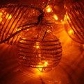 Гирлянда светодиодная 2м, 6 ламп LED, 6 шаров, желтых с контроллером BAL18Y-Y08-C купить оптом и в розницу