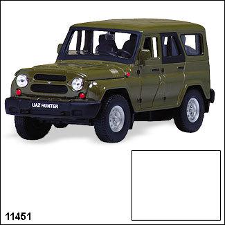 Модель УАЗ Хантер  Гражд. 11451 1:34/39 купить оптом и в розницу