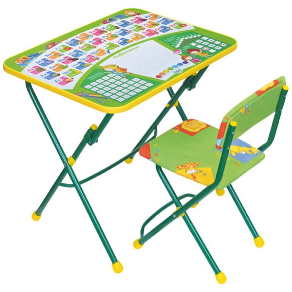 Набор детской мебели ″Первоклашка″ складной, мягкий стул КУ1/13 купить оптом и в розницу