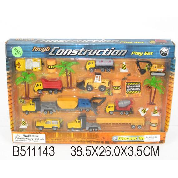 Набор машин металл 11269-ВА Стройка LITTLE ANT купить оптом и в розницу