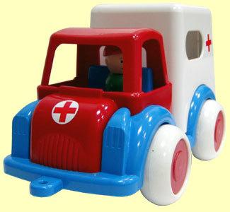 Автомобиль Детский сад скорая помощь С-61-Ф /6/ купить оптом и в розницу