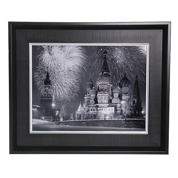 Картина ламинированная 30*40см в двойной раме ″Города и страны″, Москва купить оптом и в розницу