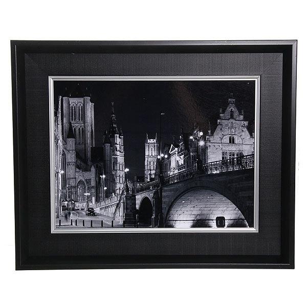 Картина ламинированная 30*40см в двойной раме ″Города и страны″ В-223 купить оптом и в розницу
