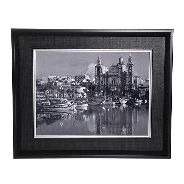 Картина ламинированная 30*40см в двойной раме ″Города и страны″ В-230 купить оптом и в розницу