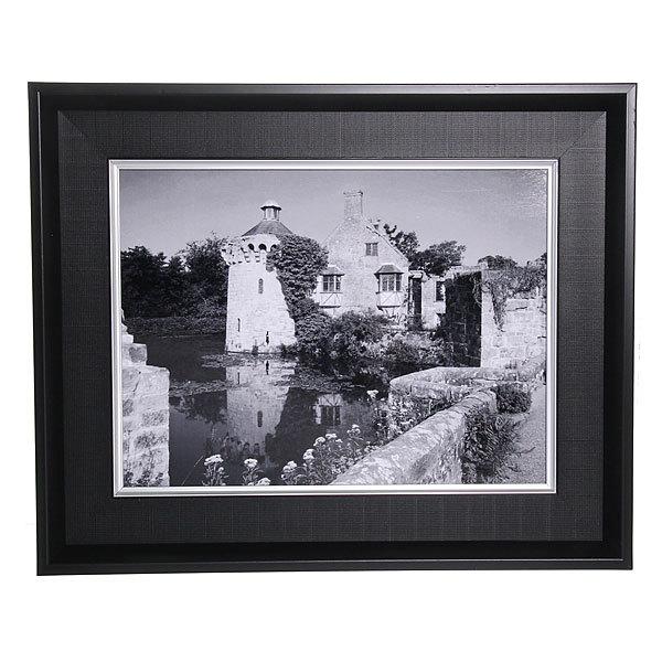 Картина ламинированная 30*40см в двойной раме ″Города и страны″, дом у озера купить оптом и в розницу